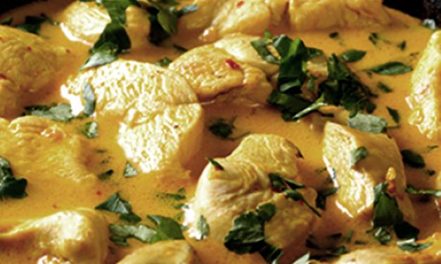 Guiso de Pollo al Curry