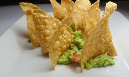 """Triángulos Fritos """"Nachos"""" Ceto"""